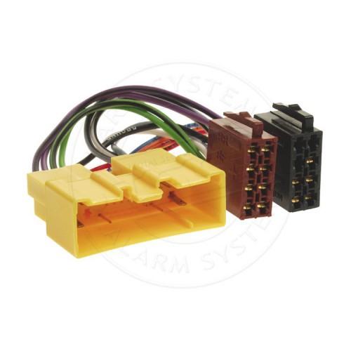 ISO adaptér pro autorádia Mazda RISO-127