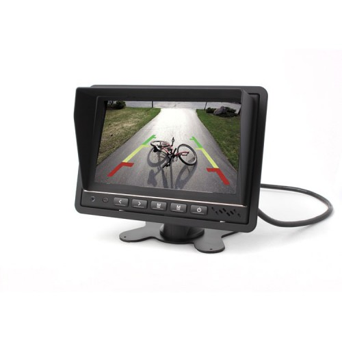 "Monitor 7"" s DVR a nahráváním na SD, TFT M07 BDVR"