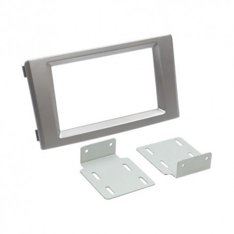 Plastový rámeček 2DIN, IVECO Daily (06-14) stříbrná PF-2663 2