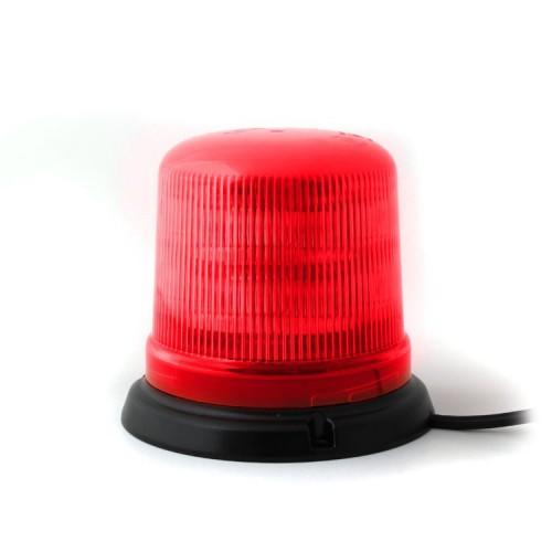 Červený maják s 3-bodovým úchytem, 10LED, B14-3B-R