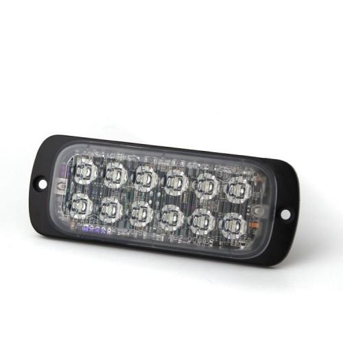 Poziční výstražné světlo, 12 LED, Class 2, R65 modré M62C2-B