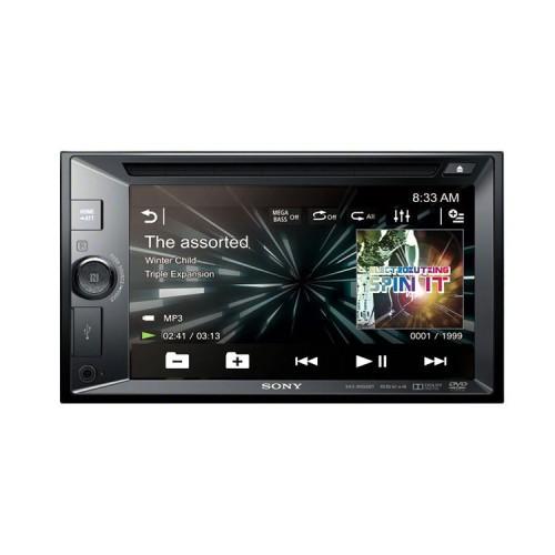 Autorádio SONY, 2DIN s DVD, dotykovým LCD, USB, BT XAVW651BT.EUR