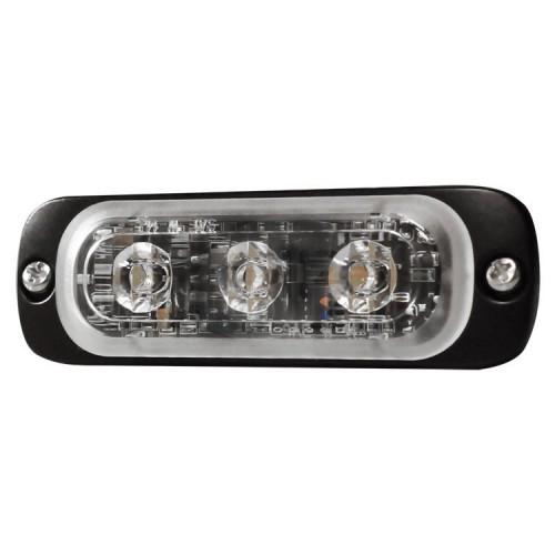 Poziční výstražné světlo, 3 LED, modré ST3-B