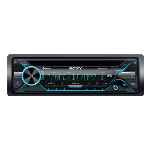 Autorádio SONY, 1DIN s CD, USB, BT, MEXN5200BT.EUR