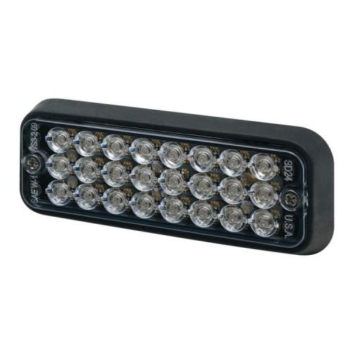 Poziční výstražné světlo, 24 LED, 12-24V, R10, červené 3510R