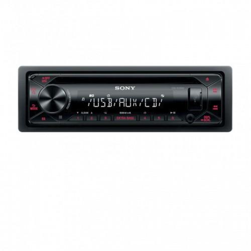 Autorádio SONY, 1DIN s CD, AUX, USB, červené CDXG1300U.EUR