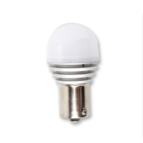LED 3D žárovka BA15s, bílá, 2ks HL 395-2