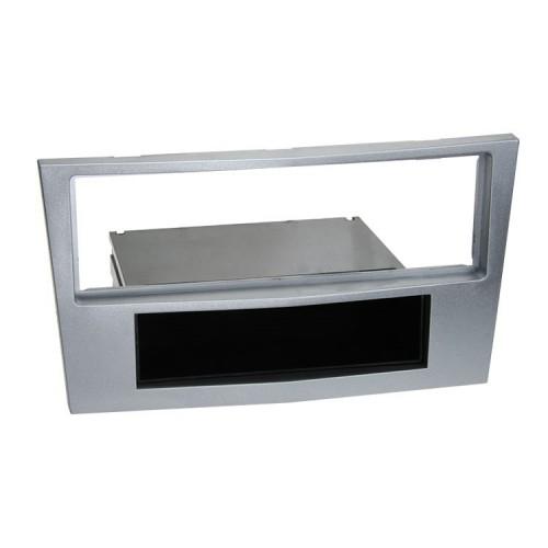 Plastový rámeček 1DIN, OPEL Astra, Zafira - světle stříbrná PF-2255 2
