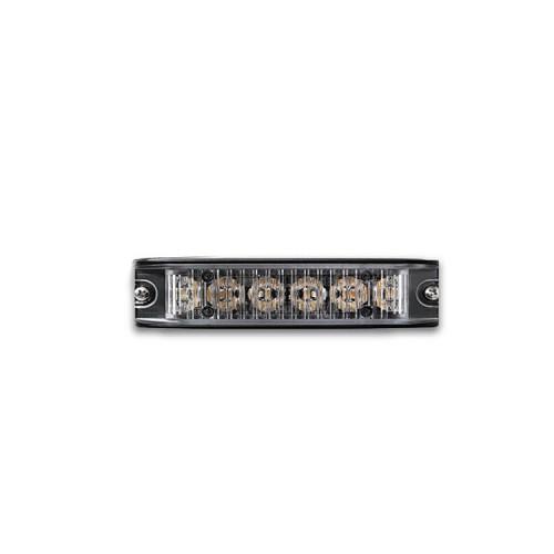 Poziční výstražné světlo, 6 LED, 12-24V, R65, modré ID6-B