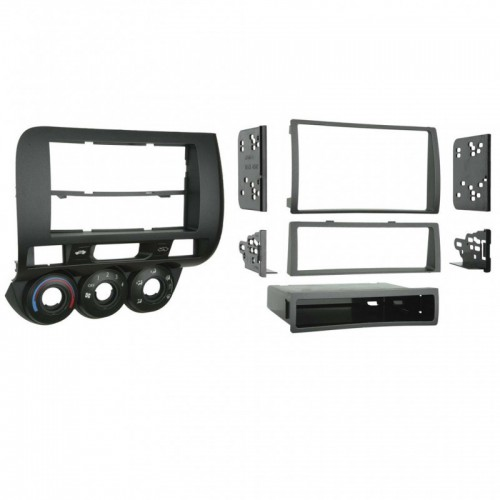 Plastový rámeček 1DIN/2DIN, Honda Jazz I. (02-08), manual klima PF-2673