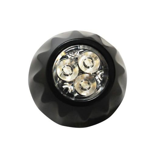 Poziční výstražné světlo, 3 LED, 12-24V, oranžové FAL03-A