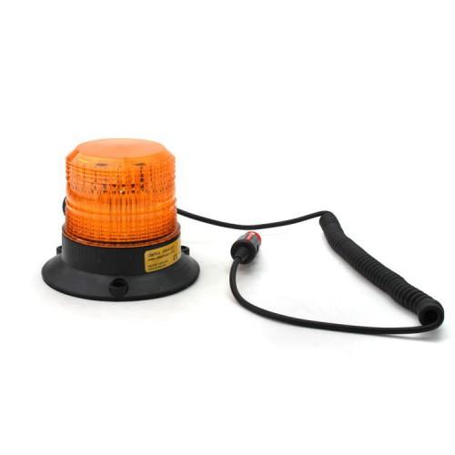 Xenonový maják, magnetický úchyt, 12-80V, oranžový 086-A