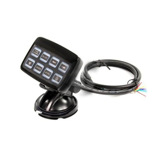 Multifunkční ovládací panel k LED lampám a alejím, 8 tlačítkový SW830-2