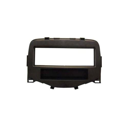 Plastový rámeček 1DIN, Citroen C1, Peugeot, Toyota - černá matná PF-2702 1