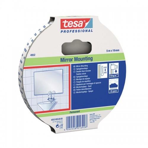 Oboustranná lepicí páska, bílá, voděodolná TESA DOUBLE 5x19