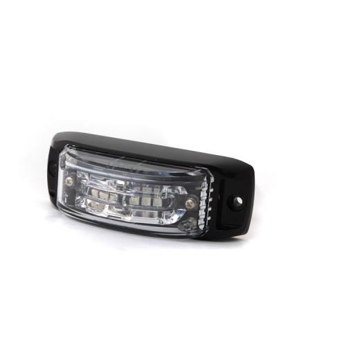 Poziční výstražné světlo, 6 LED, 12-24V, bílé AL6-W