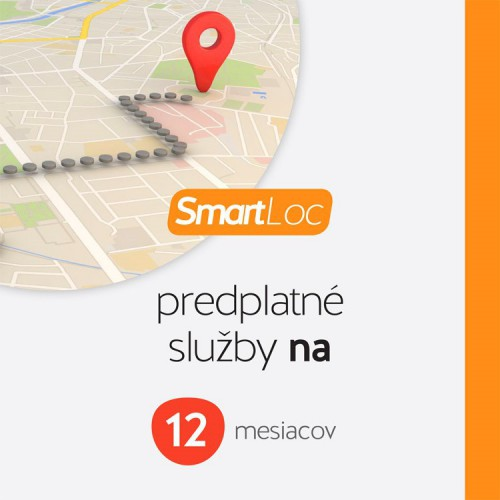 Předplatné služby SMART Loc EU 12