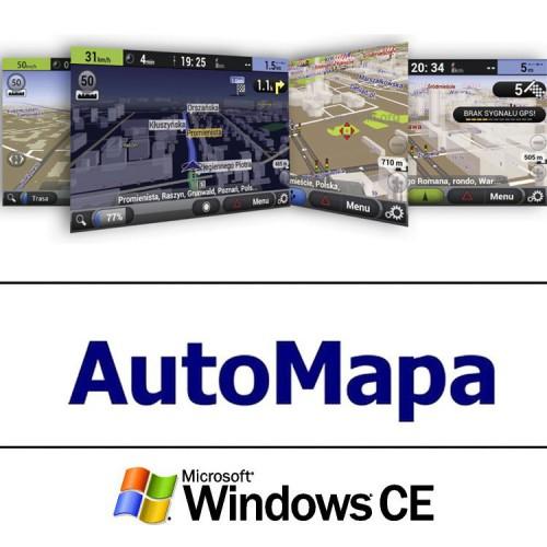 Doživotní Licence navigace, Windows AUTOMAPA W-EU