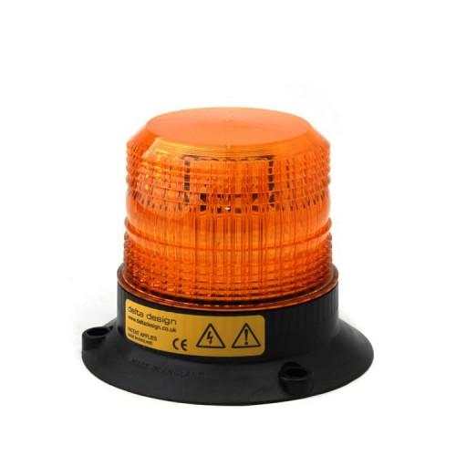 Xenonový maják, 3-bodový úchyt, 12-80V, oranžový 040-A