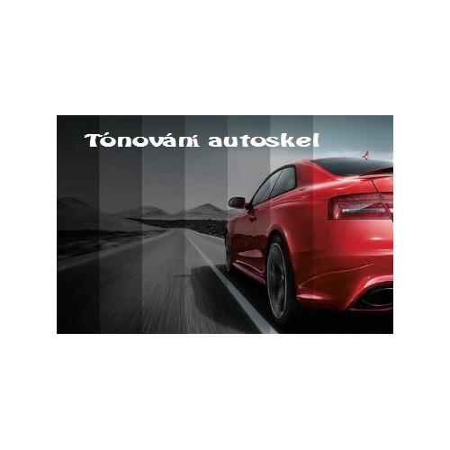 Tónování autoskel vozy verze SEDAN 4 dveřové bez předních oken řidiče a spolujezdce