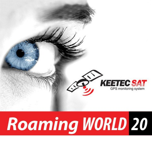 Služba Roaming WORLD 20