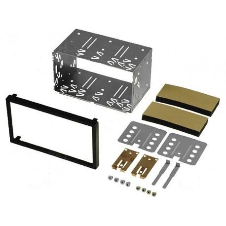 Plechová klec s rámečkem pro montáž 2DIN autorádia